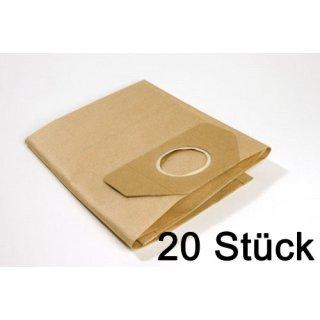 20 Filtertueten passend für Kärcher 6.959-130  reißfeste Filterbeutel AK042