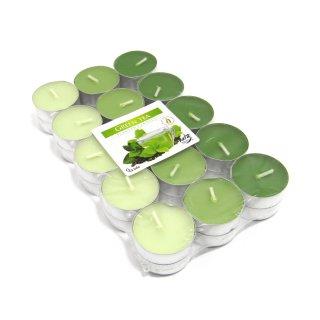 Teelicht mit Duft Grüner Tee