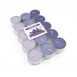 Teelicht mit Duft Lavendel