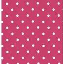 Klebefolie Möbelfolie - Pink Punkte - Dots -  45 x 200 cm - Dekorfolie