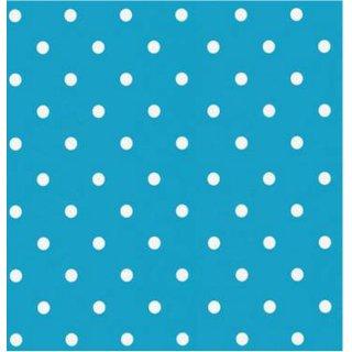 Klebefolie Möbelfolie Punkte aqua hellblau Dots 45 x 200 cm Dekorfolie