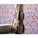 bunte Fensterfolie Reims blue pink - Glasdekorfolie...