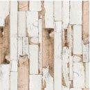 Klebefolie Holzoptik altes Holz Door - Möbelfolie Dekorfolie 45x200 cm