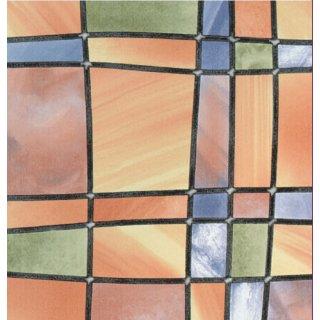 bunte Fensterfolie Barcelona 67,5x200 cm Glasdekorfolie selbstklebend