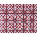 Klebefolie  Andy geometrisch rot - Möbelfolie -...